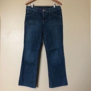 {Charter Club} Stonewashed Straight Leg Jeans